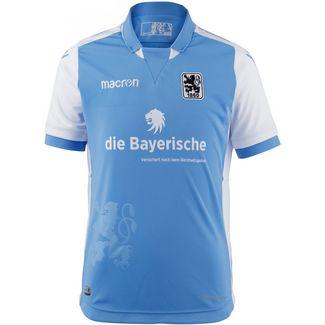 macron TSV 1860 München 18/19 Heim Fußballtrikot Kinder hellblau-weiß