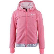 Nike Funktionsjacke Kinder pink nebula-htr-pink nebula-wh