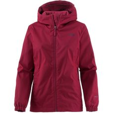 The North Face QUEST Regenjacke Damen RUMBA RED