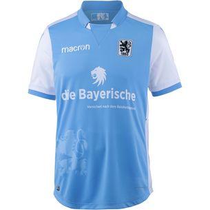 macron TSV 1860 München 18/19 Heim Fußballtrikot Herren hellblau-weiß
