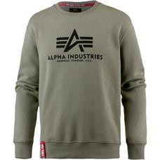 Alpha Industries Sweatshirt Herren olive