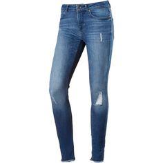 Only Blush Skinny Fit Jeans Damen medium blue denim