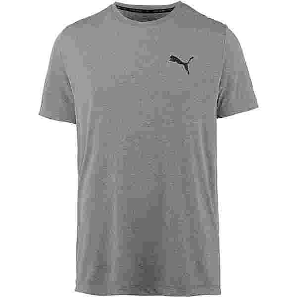 PUMA Active Funktionsshirt Herren medium-gray-heather
