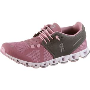 ON Cloud Laufschuhe Damen charcoal-rose