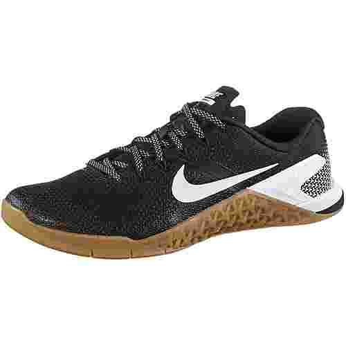 Nike Metcon 4 Fitnessschuhe Herren black-white-gum-med-brown im Online Shop  von SportScheck kaufen