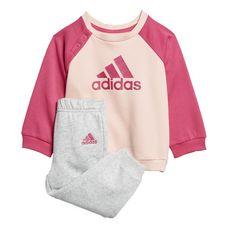 adidas Trainingsanzug Kinder Haze Coral / Real Magenta / Real Pink / Real Magenta