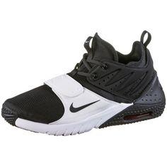 Nike Air Max Trainer 2 Fitnessschuhe Herren black-white-red-blaze
