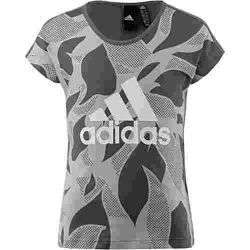 adidas T-Shirt Kinder mgh solid grey