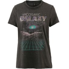 Only T-Shirt Damen black-galaxy1
