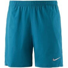 Nike French Open NKCT FLX Ace Tennisshorts Herren GREEN ABYSS/GREEN ABYSS/(METALLIC SILVER)