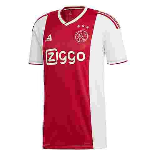 adidas Ajax Heim Funktionsshirt Herren White / Bold Red