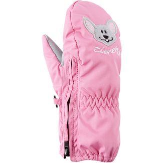 Ziener Fäustlinge Kinder flamingo pink-graphite