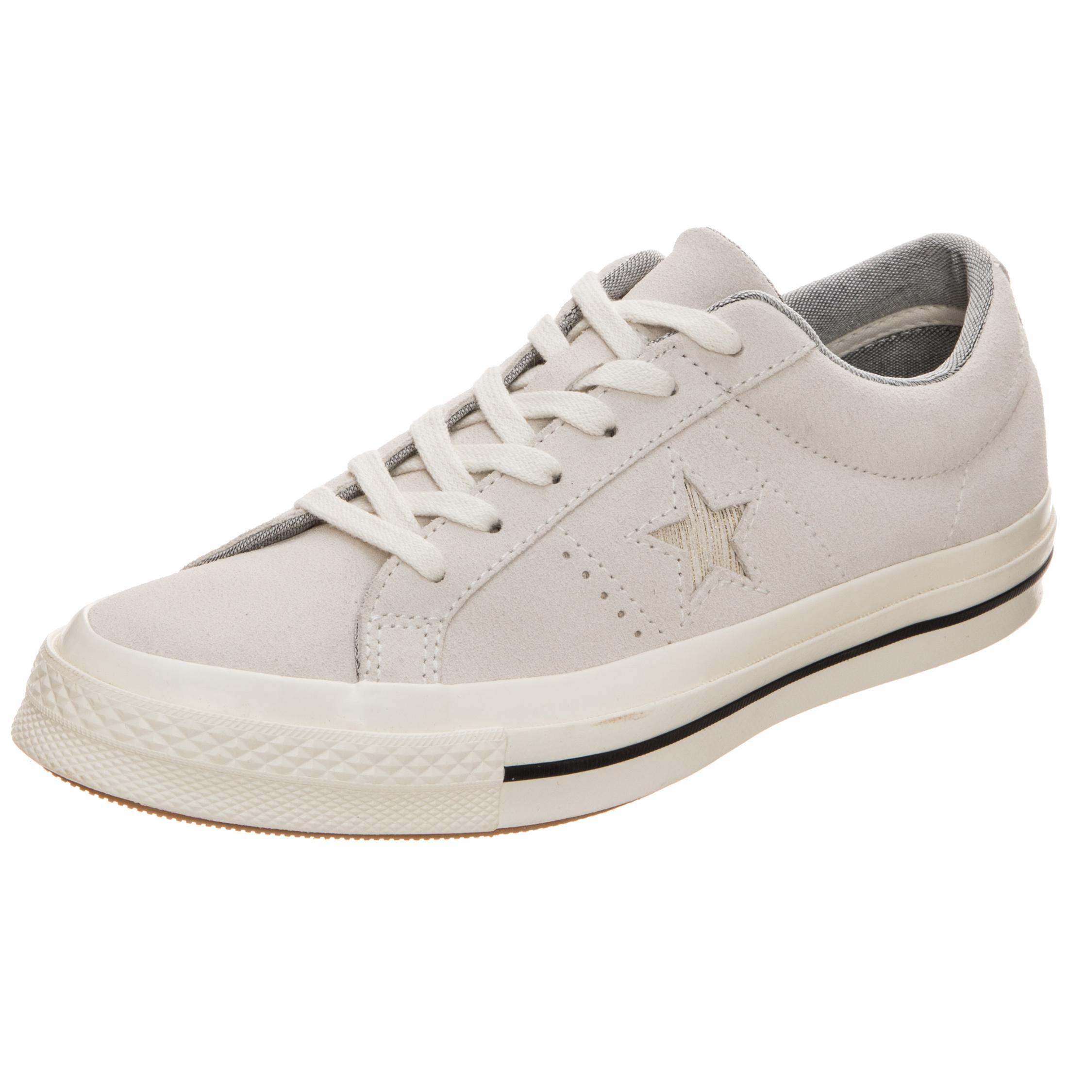 CONVERSE Cons One One One Star Precious Metal Suede Turnschuhe Damen hellgrau im Online Shop von SportScheck kaufen Gute Qualität beliebte Schuhe d070a4