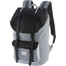 Herschel Little America Daypack mid grey crosshatch-black-light grey crosshatch