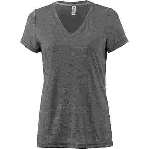 Under Armour Threadborne Train T-Shirt Damen black-graphite