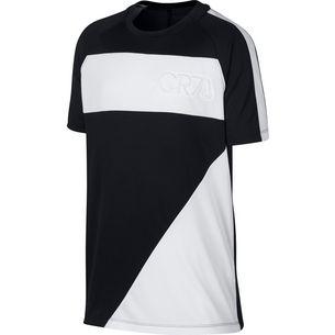 Nike CR7 Funktionsshirt Kinder black-white-white