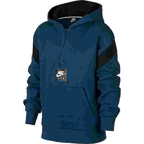 Nike Hoodie Kinder blue force-black