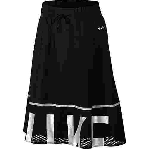 Nike NSW SKIRT MESH A-Linien Rock Damen black-light bone-light bone