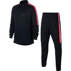 Nike CR7 Trainingsanzug Kinder black-black-hot punch-black