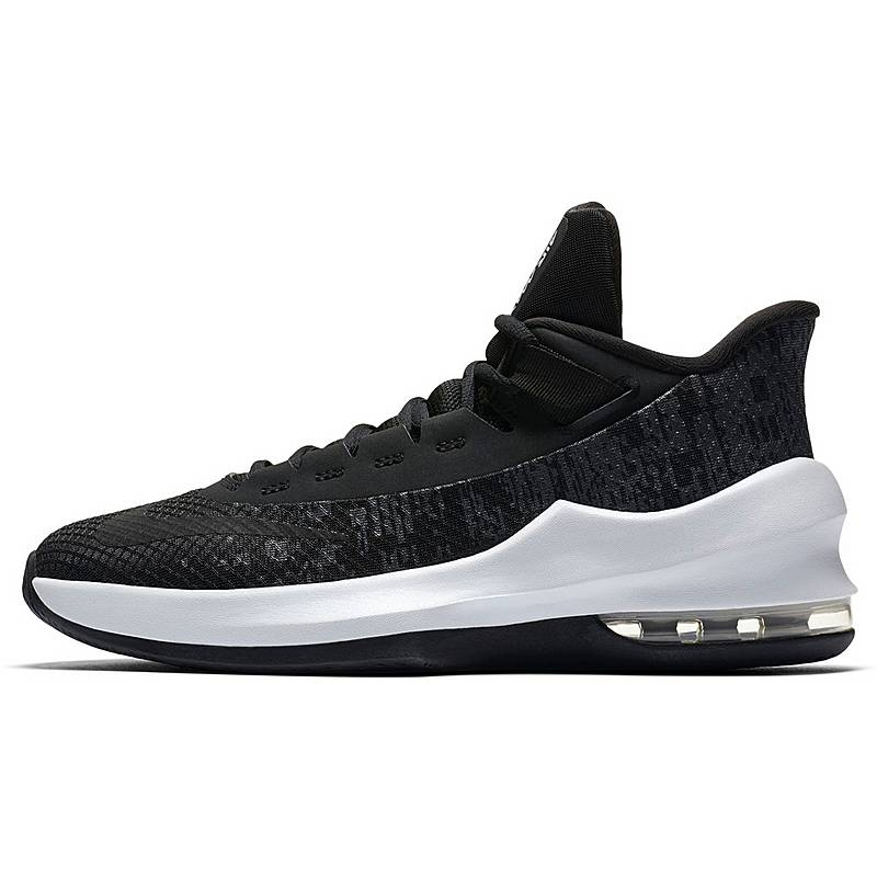 the best attitude c10b0 0d16d Nike Air Max Infuriate Basketballschuhe Kinder black-black-white-anthracite