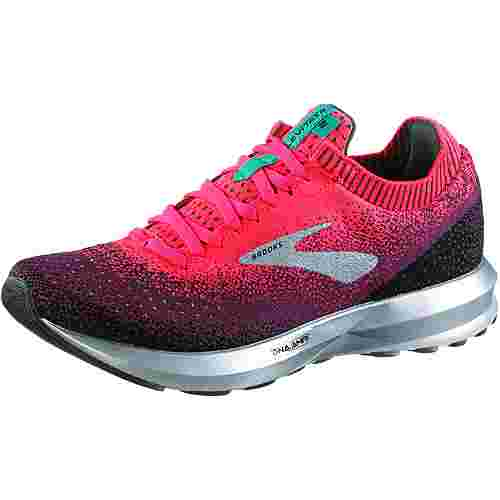 Brooks Levitate 2 Laufschuhe Damen pink-black-aqua