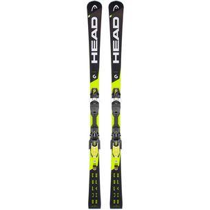 HEAD Supershape i.Speed SW + PRD 12 GW All-Mountain Ski schwarz/gelb