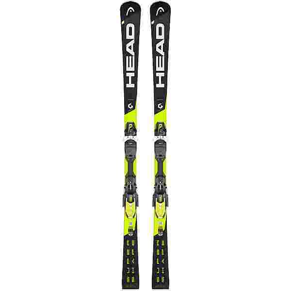 HEAD Supershape i.Speed SW + PRD 12 GW 2018 All-Mountain Ski schwarz-gelb