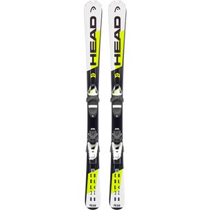 HEAD Supershape Team  SLR2 + SLR 7.5 AC All-Mountain Ski Kinder weiß/schwarz/gelb