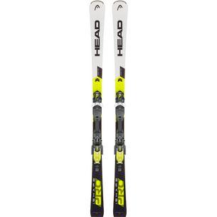 HEAD WC Rebels i.Shape Pro AB + PR 11 GW All-Mountain Ski weiß/schwarz/gelb