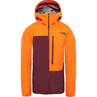 The North Face Free Thinker GORE-TEX® Skijacke Herren persian orange-fig