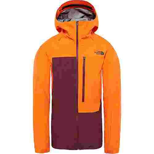 The North Face Free Thinker Skijacke Herren persian orange-fig