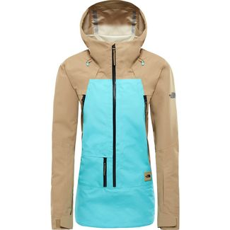The North Face Ceptor Skijacke Damen kelp tantransantarctic blue