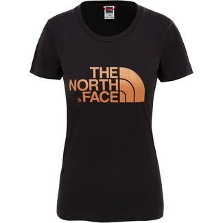 The North Face EASY T-Shirt Damen TNF BLACK/METALLIC COPPER