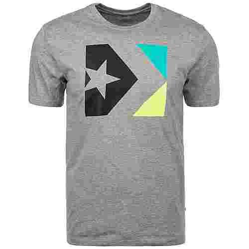 CONVERSE Star Chevron Box T-Shirt Herren grau