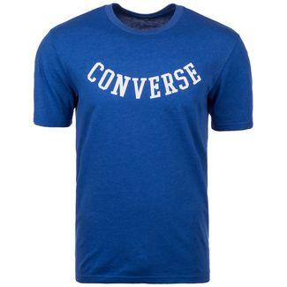 CONVERSE Reverse Athletic Arch T-Shirt Herren blau / weiß