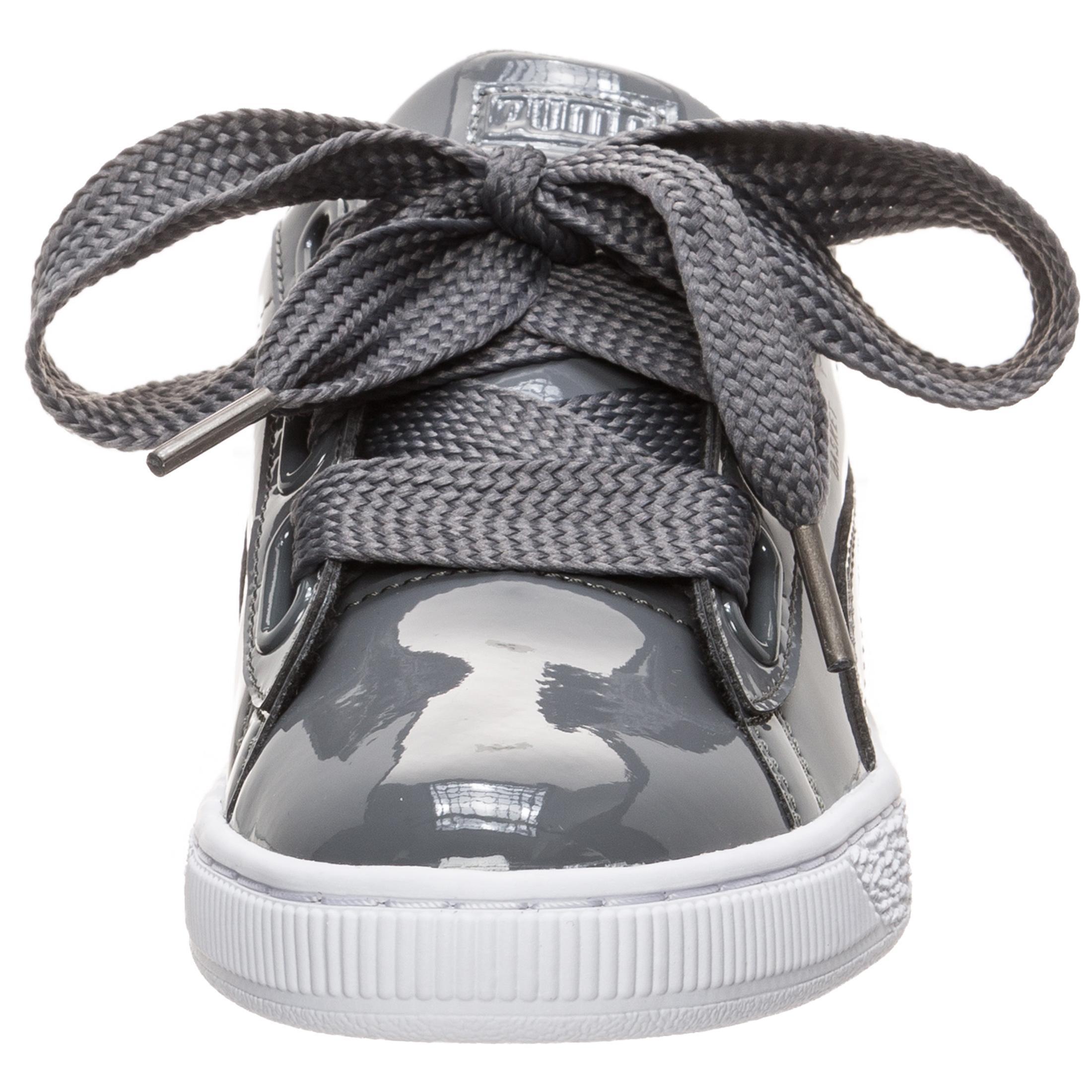 PUMA Basket Heart Patent Turnschuhe Damen grau im Online Shop Shop Shop von SportScheck kaufen Gute Qualität beliebte Schuhe c78c07