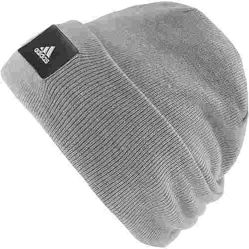 adidas Kids Size Beanie Kinder medium grey heather
