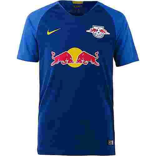 Nike RB Leipzig 18/19 Auswärts Fußballtrikot Kinder deep royal blue-tour yellow