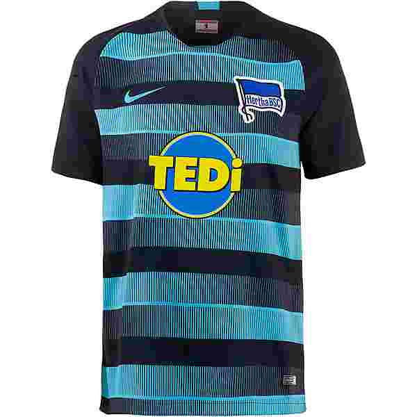 Nike Hertha BSC 18/19 Auswärts Trikot Herren dark obsidian-chlorine blue-chlorine blue
