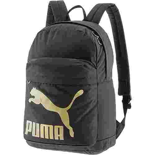 PUMA Rucksack Daypack Damen Puma Black-Gold