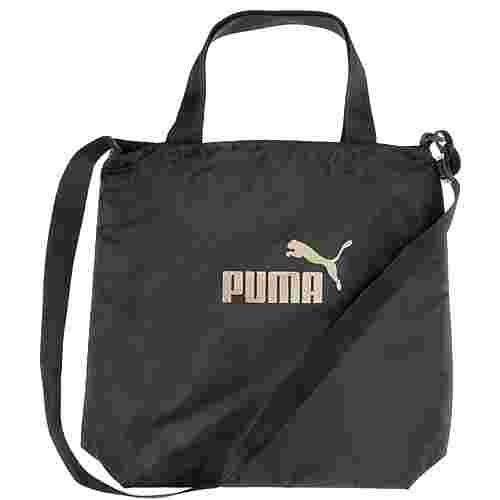 PUMA Shopper Damen Puma Black-Gold