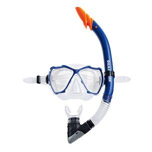 US Divers Set Tamana Schnorchelset blau