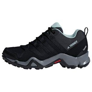 adidas Wanderschuhe Damen Core Black / Core Black / Ash Green