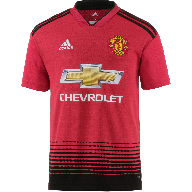 adidas Manchester United 18/19 Heim Fußballtrik...