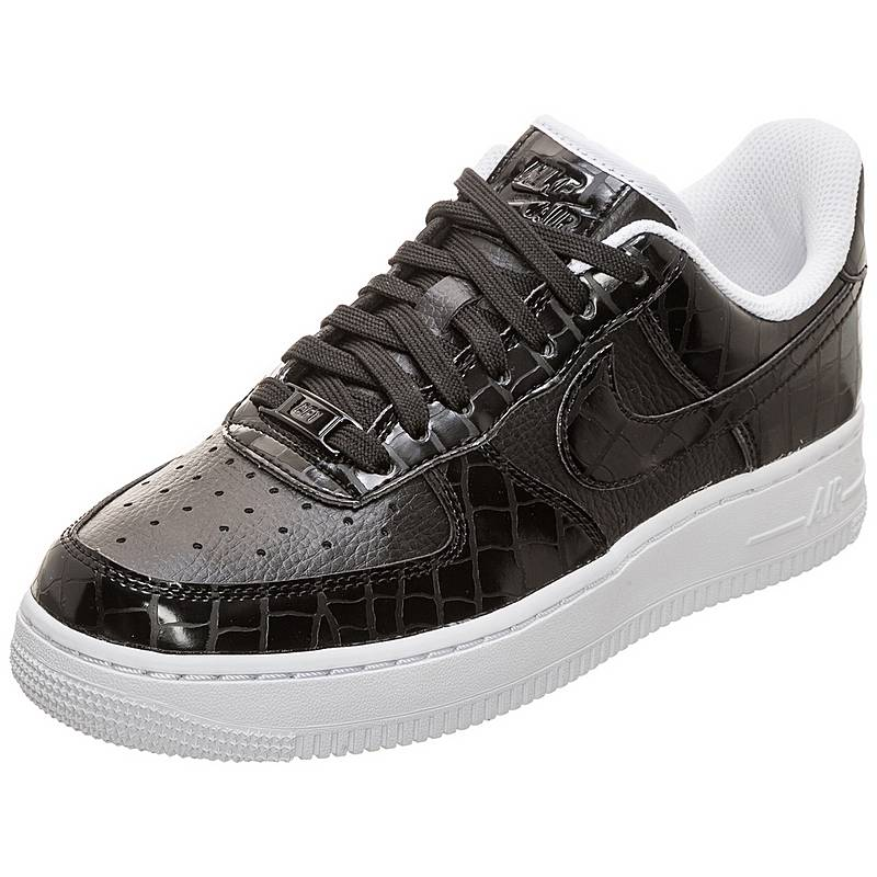 new concept 705a9 06daf Nike Air Force 1 07 Essential Sneaker Damen schwarz  weiß