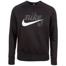 Nike SB Icon Fleece Sweatshirt Herren schwarz