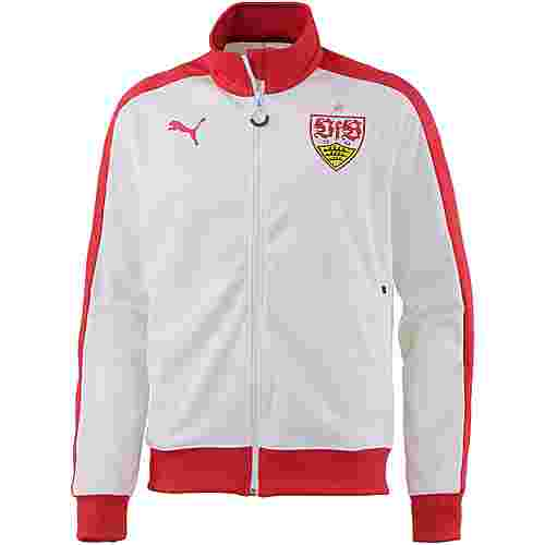 PUMA VfB Stuttgart Trainingsjacke Herren ribbon red-white