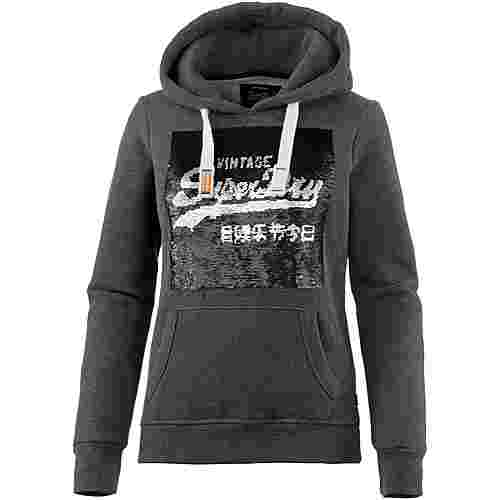 Superdry Sweatjacke Damen charcoal marl