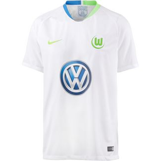Nike VFL Wolfsburg 18/19 Auswärts Fußballtrikot Herren white-green strike