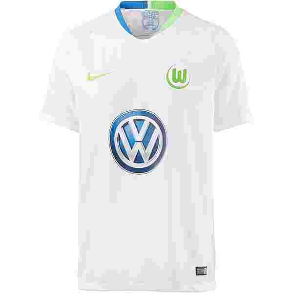 Nike VFL Wolfsburg 18/19 Auswärts Trikot Herren white-green strike